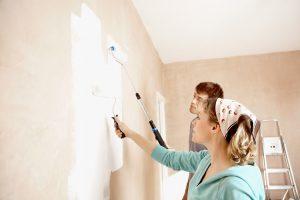Malowanie na tynku i betonie