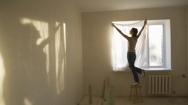 Firanki Zasłony I Pokrywanie ścian Materiałem Remontuje
